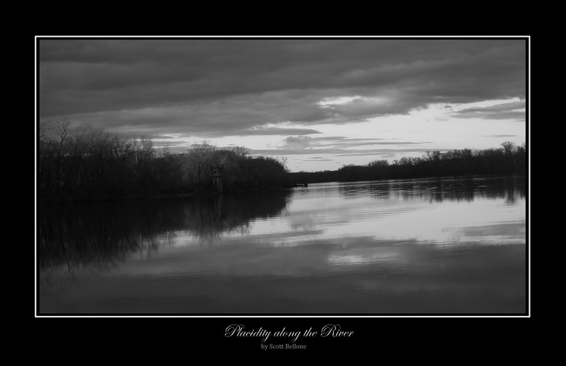 Placidity along the River