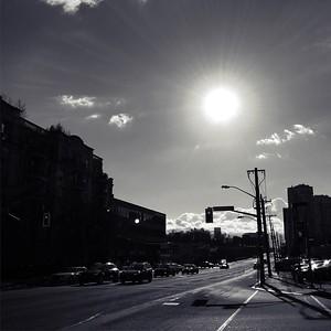 Daylight lingers