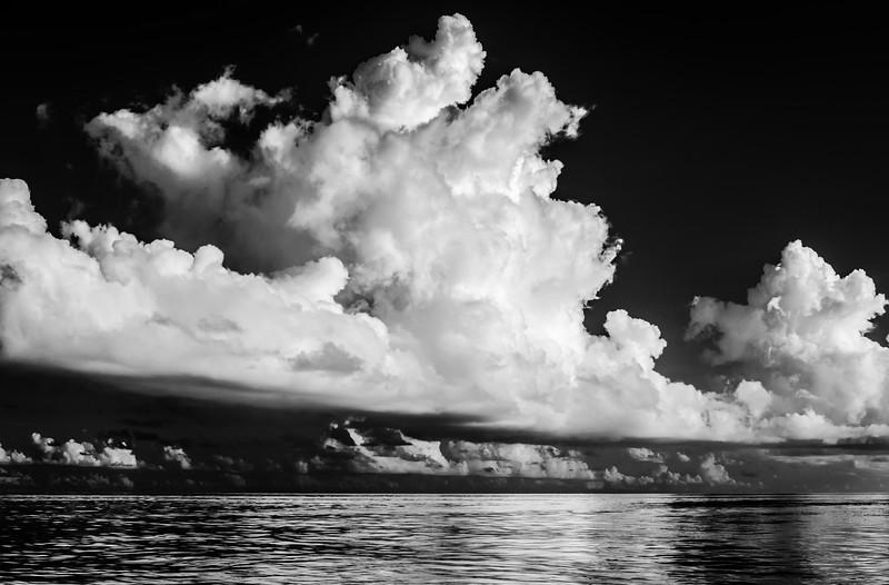 Cumulus clouds - Bahamas