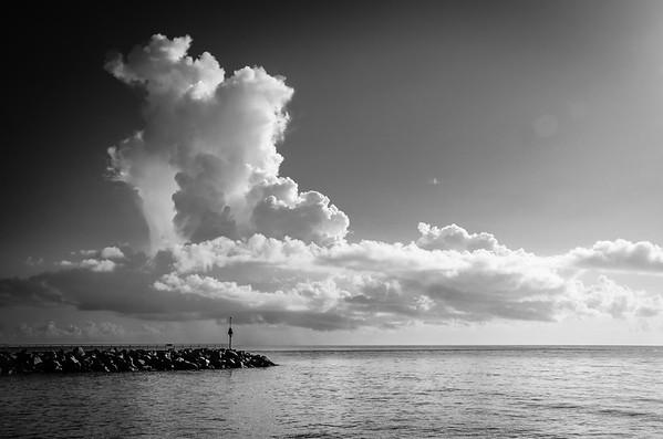 Jupiter Inlet Clouds