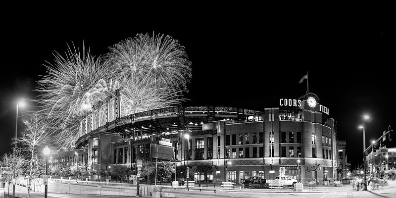 Coors Field Fireworks Game