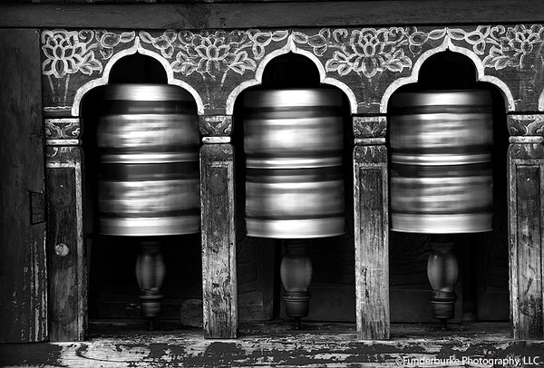 Prayer Wheels - Bhutan