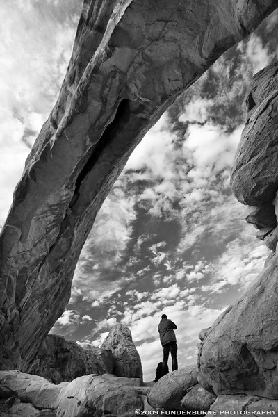 Beneath the North Window - Arches National Park