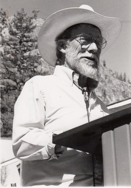 Gary Snyder. Art of the Wild. 1995. [photo credit: Laura Cerruti]