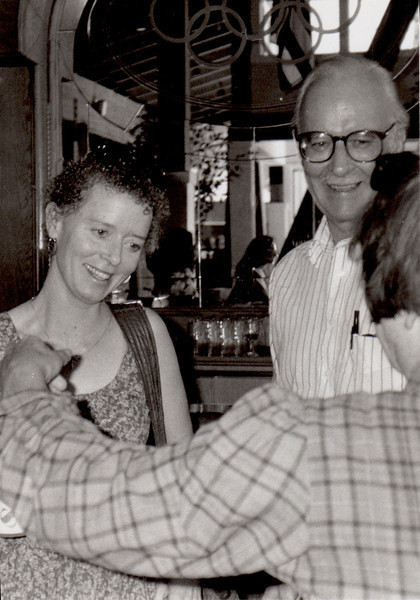 Anne Lamott, Henry and Olga Carlisle. 1991.