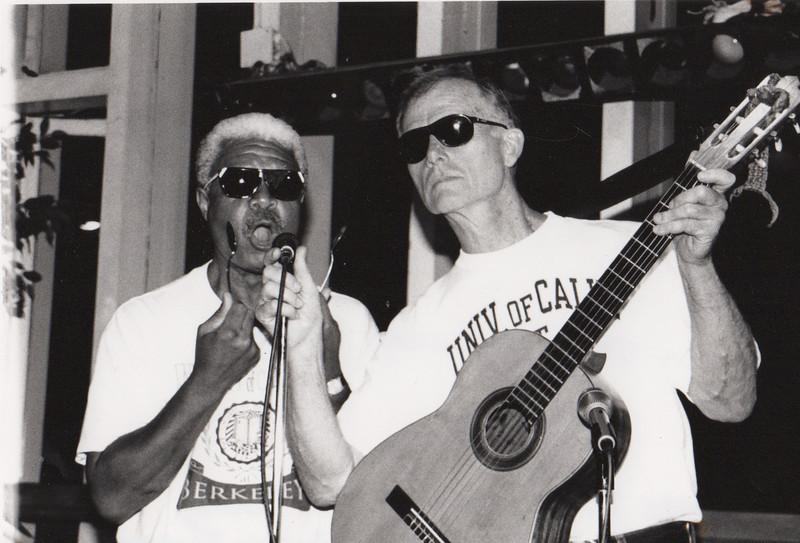 Al Young, James D. Houston. The Follies. 1995. [photo credit: Laura Cerruti]