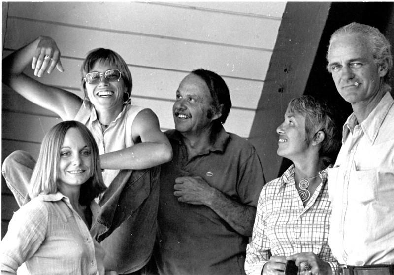 Sara McCauley, Katherine Marshall, Oakley hall, Alice Adams, Blair Fuller. 1974.