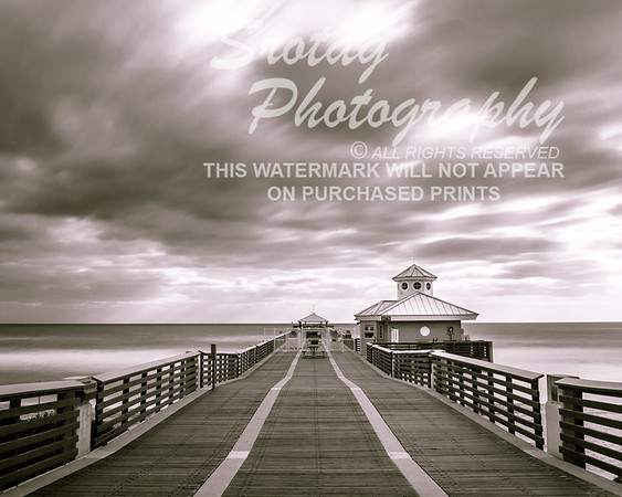 Juno Beach Pier - Long Exposure