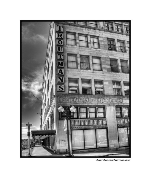 The old Troutman's Department store