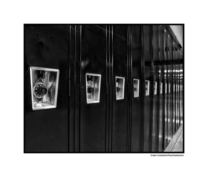 GSHS Lockers across from the choir room