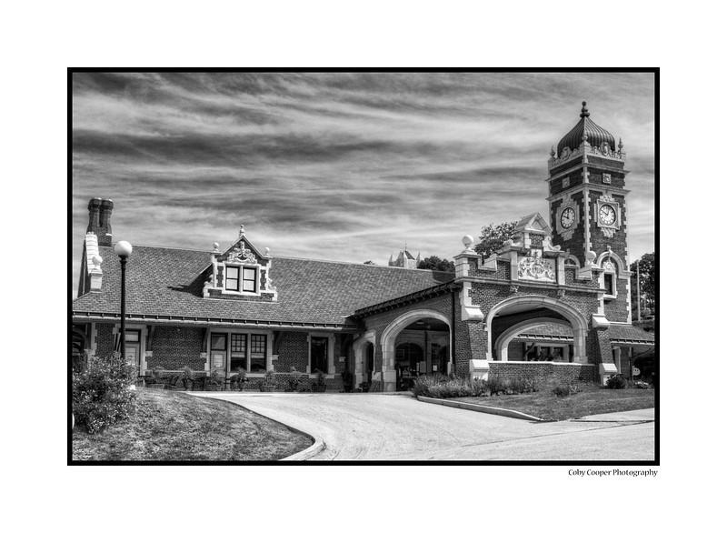 The Old Train Station in Greensburg, PA