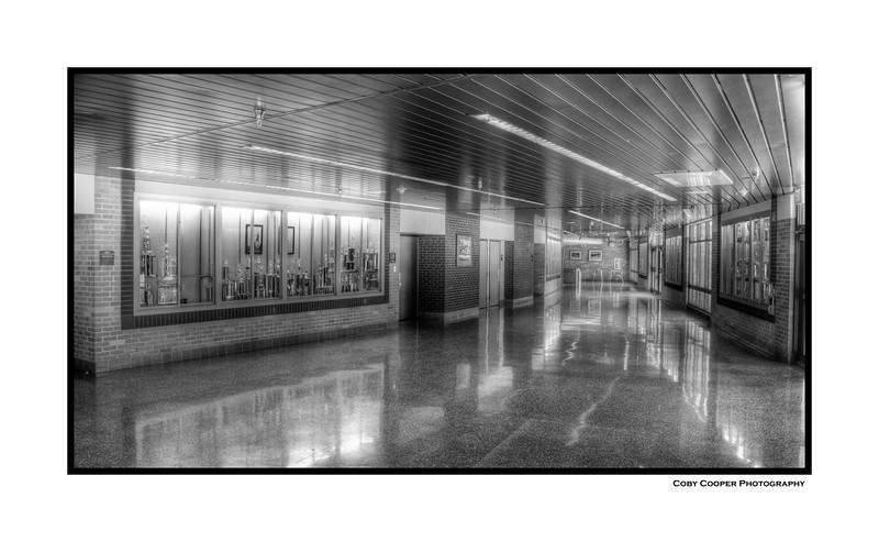 The GSHS Auditorium Lobby