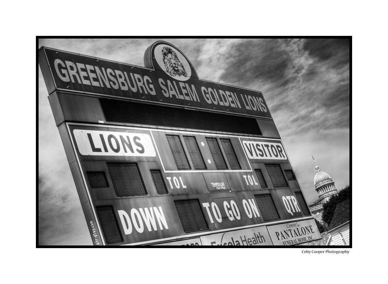 Offutt Field Scoreboard