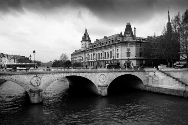 Quais de Seine, Paris, France.