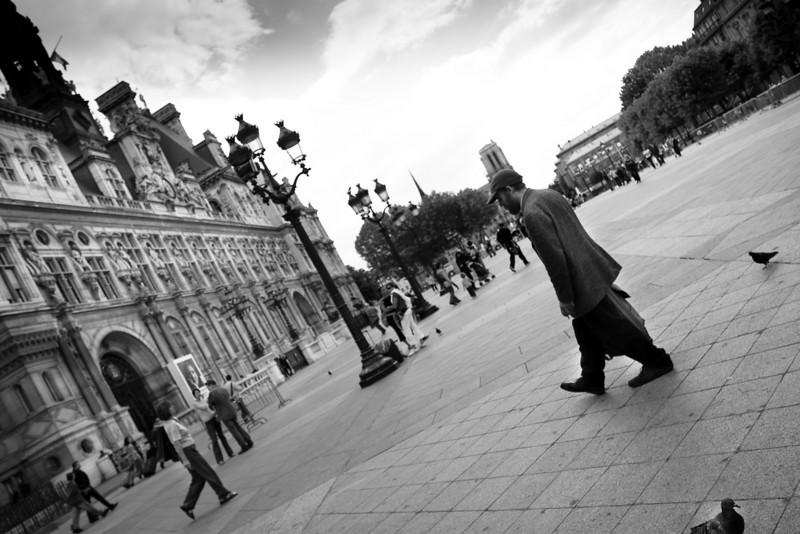 Hotel de Ville, Paris, France.