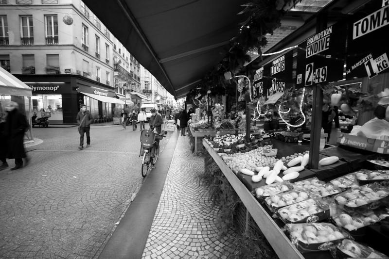 Rue de Montorgueil, Paris, France.
