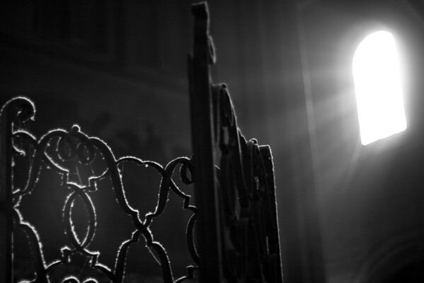 Church light, Paris, France.