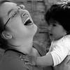 Happy Amanda with sweet baby Peru