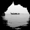Longtail Boat<br /> Chicken Island Sea Cave, Thailand