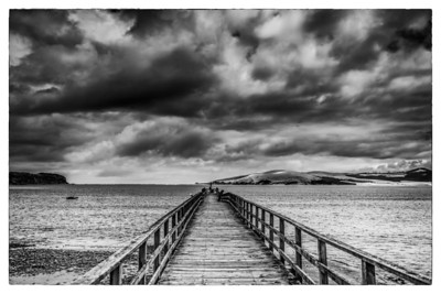 Omapere Wharf The Hokianga Northland New Zealand