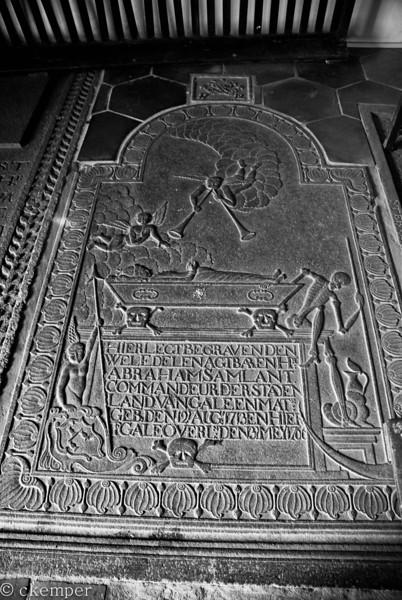 Tombstone<br /> Dutch Reform Church<br /> Galle, Sri Lanka