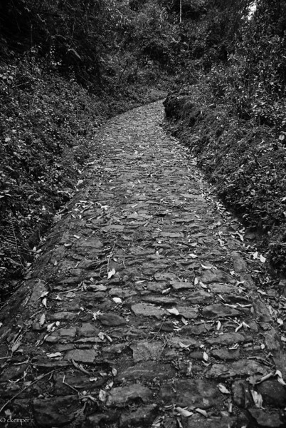 Pathway to Monastery, Sikkim