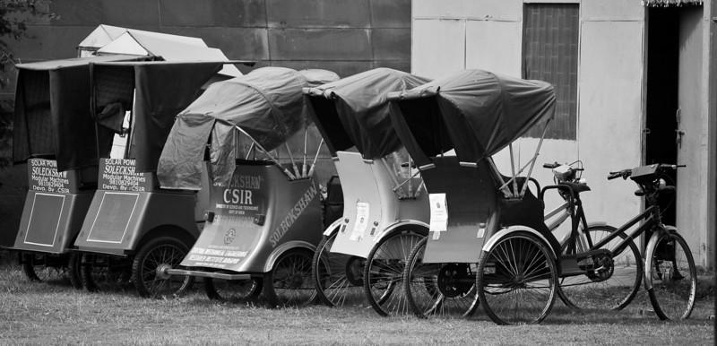 Rickshaws,<br /> India