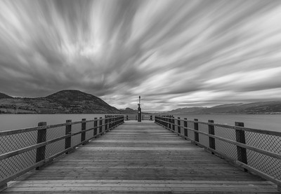Kiwanis Pier BW Long Burn 2