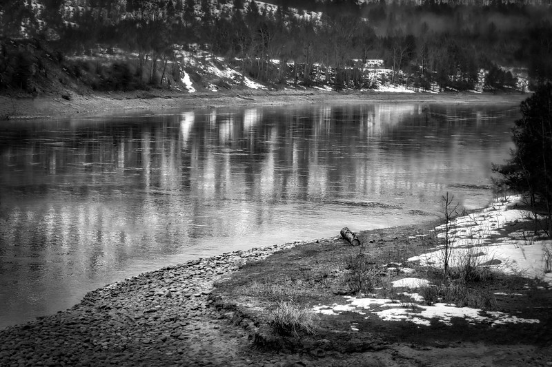 Columbia River in Spring