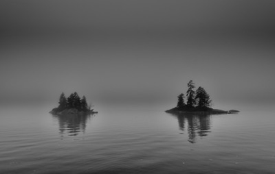 """Lookout Point """"Fog got what I was looking at."""""""