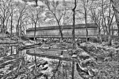 Penciled Covered Bridge
