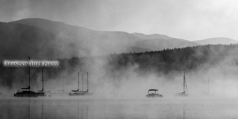Lake Dillon Fog