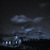 Church of the Transfiguration at night, Grand Teton National Park
