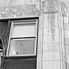 detailed trim work on a corner building in Birmingham, Alabama