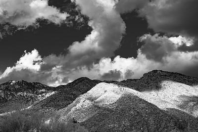 'Clouds and Shadows,' Catalina Mountains, Tucson, AZ   2021