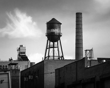 Brooklyn Water Tower and SmokeStack