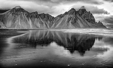 Cloudy Morning at Stokksnes, Vestrahorn
