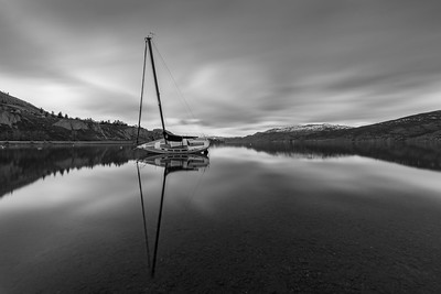 The Summerland Sailboat 2 - A Long Exposure
