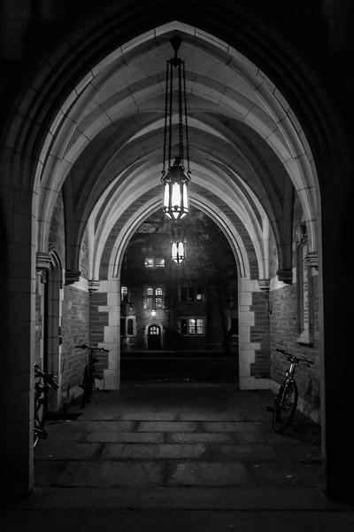 Corridor at Princeton University