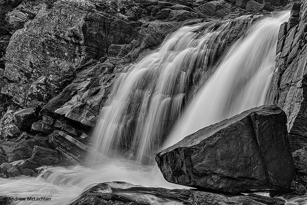 High Falls on the Muskoka River, Bracebridge, Ontario