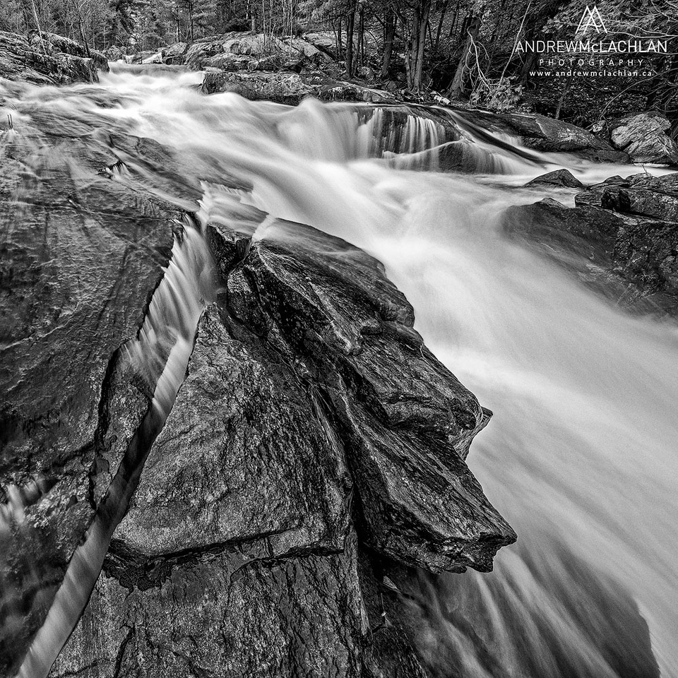 Lower Rosseau Falls, Muskoka, Ontario, Canada