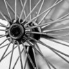 old spokes in black and white