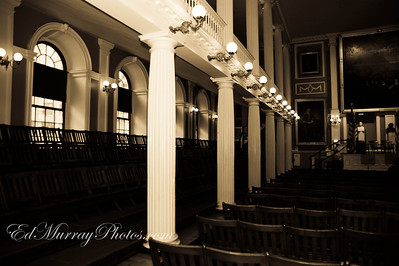 The Gallery at the Boston's Faneuil Hall. Hey Everyone! Sorry I wasn't around yesterday - I hope you guys had a great weekend.