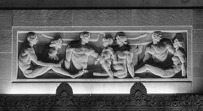 Bas Relief at the Stiefel Theatre