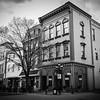 Old architecture on Main Street in Bensalem, Pennsylvania