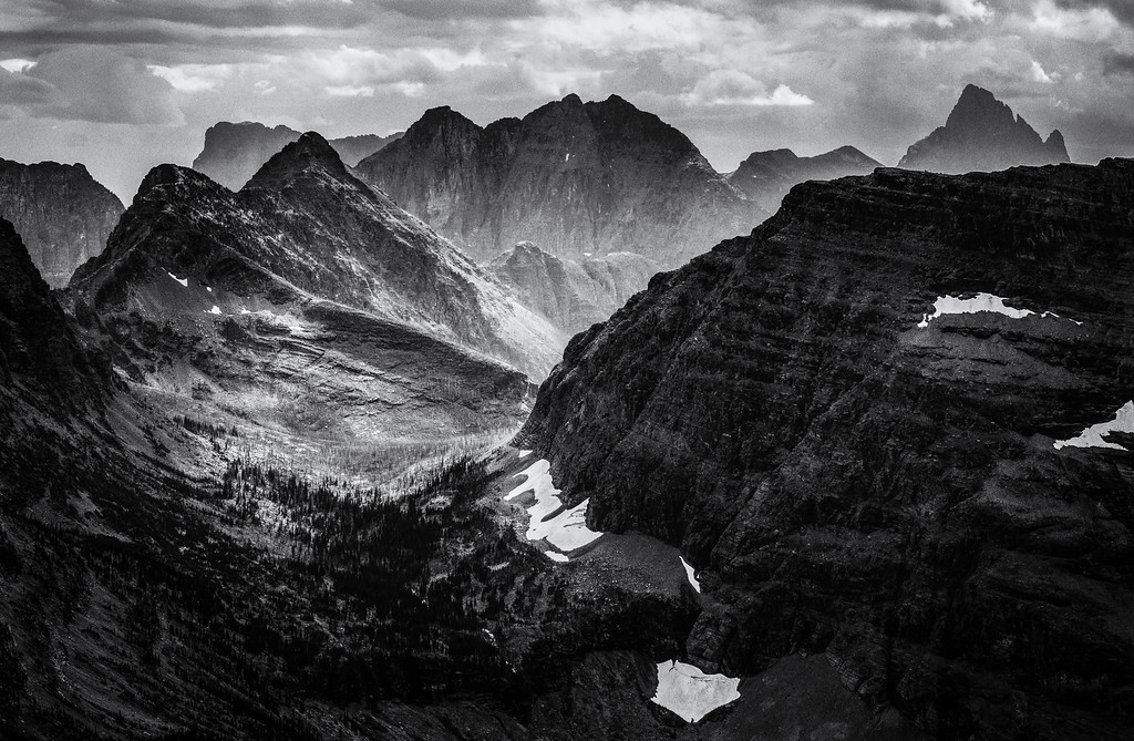 Nyack Creek Valley, Glacier National Park