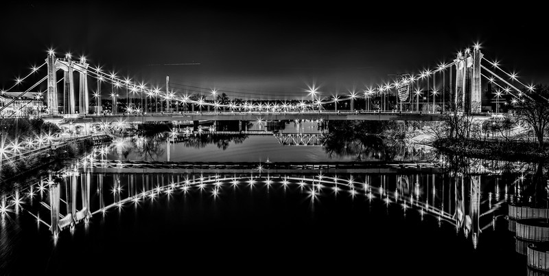 Silver Stars on the River