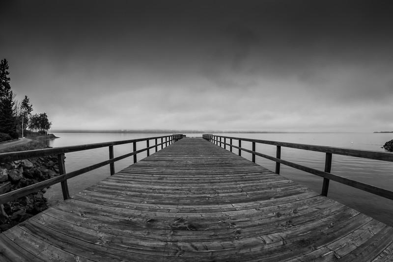 Summerland Pier Fisheye