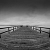 Summerland Pier Fisheye