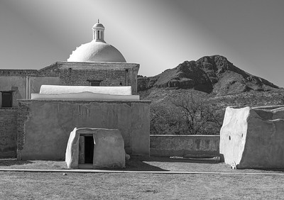 'White Dome and Storeroom,' Tumacácori Mission, Tumacácori, AZ 2021